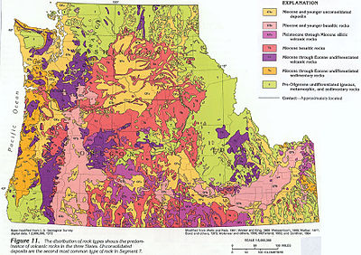 Geologic Map Of Maine.Geology Of Idaho Wikipedia