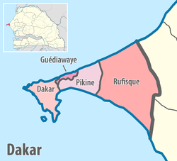 Map of the departments of the Dakar region of Senegal.png