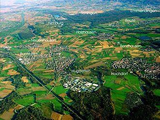 March, Breisgau - March from the air