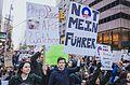 March against Trump, New York City (30648690790).jpg
