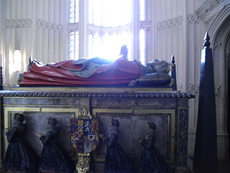 Margaret Douglas - Tomb of Margaret Douglas in Westminster Abbey; this side shows her four daughters