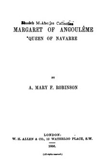 Margaret of Angoulême, Queen of Navarre (Robinson 1886).djvu