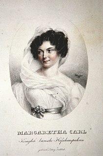 Margarethe Carl German singer and opera singer
