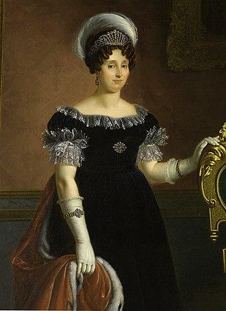 Maria Theresa of Austria-Este, Queen of Sardinia - Image: Maria Theresa of Austria Este, queen of Sardinia edit