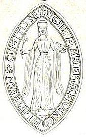 sceau de Marie de Champagne