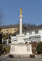 Mariensäule, Kriegerdenkmal