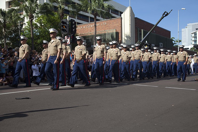 File:Marine Rotational Force - Darwin march for ANZAC Day 150425-M-BX631-367.jpg