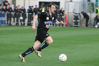 Mario Haas - Haas in action with SK Sturm Graz