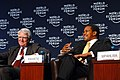 Mark Moody-Stuart, Jakaya M. Kikwete - World Economic Forum on Africa 2006.jpg