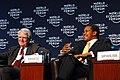 Mark Moody-Stuart, Jakaya M. Kikwete - World Economic Forum on Africa 2006.jpg