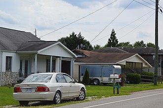 Athalia, Ohio - Houses on Market Street