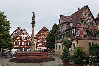 Ladenburg - Marktplatz