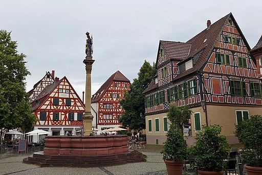 Marktplatz, Ladenburg, 2014 (02)