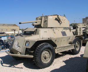 Marmon-Herrington Armoured Car - Marmon-Herrington Mk IVF ha-Namer ha-Norai (The Terrible Tiger) in Yad la-Shiryon museum, Israel.