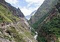 Marsyangdi river valley - Annapurna Circuit, Nepal - panoramio.jpg