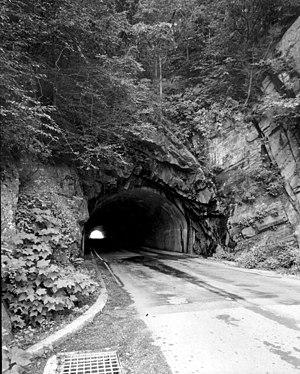 Mary's Rock - Mary's Rock Tunnel