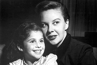 Search for Tomorrow - The first episode of the show in 1951; Joanne with daughter Patti.