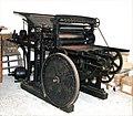 Maschinenfabrik, macchina tipografica, Augusta 1895 - san dl SAN IMG-00002969.jpg