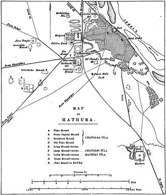 Kankali Tila - Image: Mathura archaeological sites