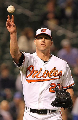 Matt Lindstrom - Lindstrom with the Baltimore Orioles