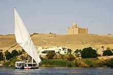 Aswan: mausoleo di Aga Khan III