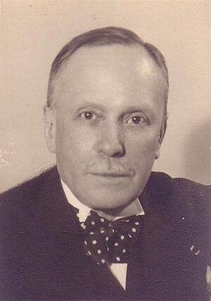 Max Maurey - Portrait of Max Maurey.