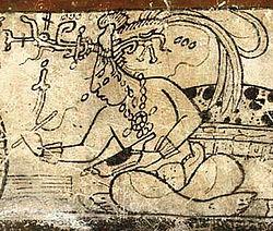 Mayan corn god