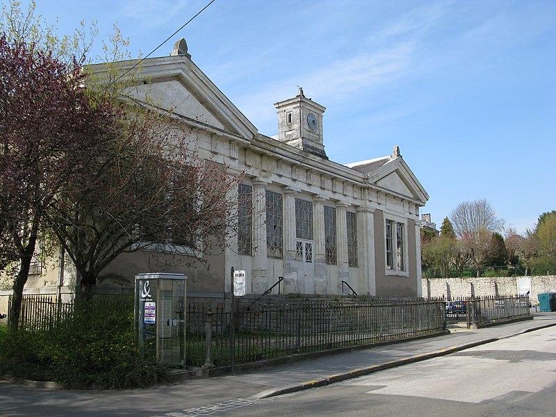 Le palais de justice de Mayenne