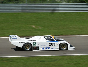 Mazda 757 - Mazda 757 at the DAMC 05 Oldtimer Festival Nürburgring.