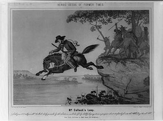 "Fort Henry (West Virginia) - ""McColloch's Leap"""