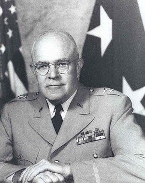 Donald W. McGowan - Major General McGowan as National Guard Bureau Chief