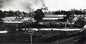 Meadowbank, New South Wales - Meadowbank Manufacturing Company workshops 1922