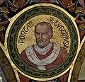 Mehrerau Collegiumskapelle Papst 01 Eugen III a.jpg
