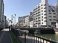 Meijibashi Bridge on Hakatagawa River.jpg