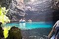 Melissani Cave, Kefalonia 10-2003.jpg