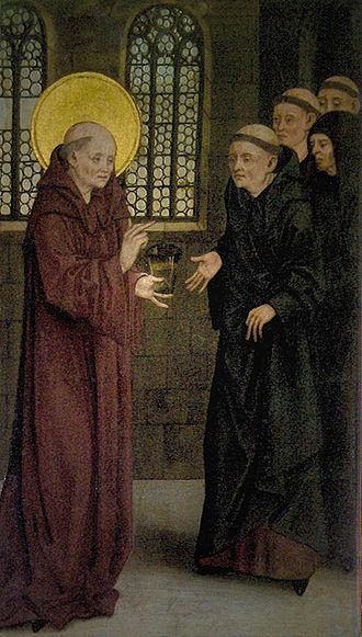 Benedict of Nursia - Image: Melk 16
