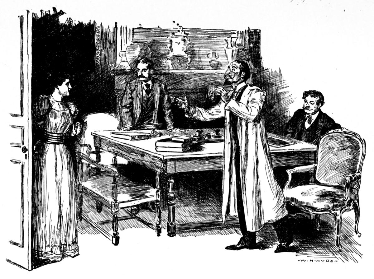 Px Memoirs Of Sherlock Holmes Burt Illustration