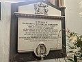 Memorial to Gaspard de Coligny Le Marchant in Town Church, Guernsey.jpg