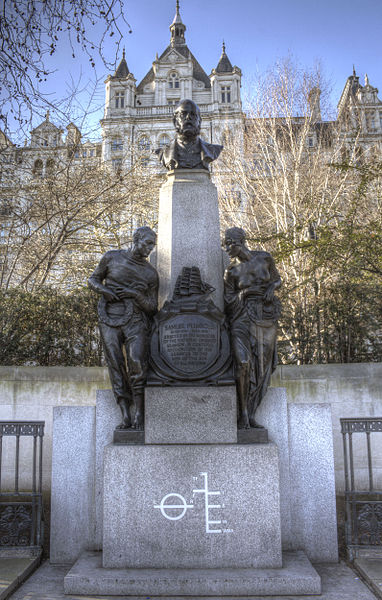 File:Memorial to Samuel Plimsoll, Victoria Embankment.jpg