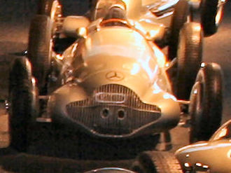 Mercedes-Benz W154 - A W154 in 1938 configuration in the Mercedes-Benz Museum