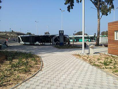איך מגיעים באמצעות תחבורה ציבורית אל מרכזית הקריות? - מידע על המקום