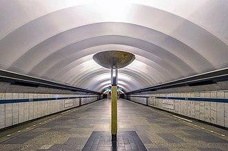 Obukhovo (Saint Petersburg Metro) - Station Hall