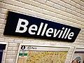 Metro de Paris - Ligne 2 - Belleville 02.jpg