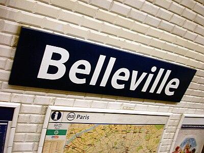 Belleville (metropolitana di Parigi)
