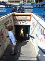 Metropolitana di Roma linea A - Colli Albani - Entrata.JPG
