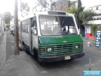 perteneciente a la Ruta 15 de microbuses de la Ciudad de México