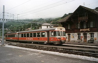 Haut-Intyamon - Montbovon train station