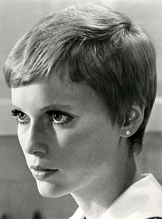Rosemary's Baby (film) - Farrow in a publicity still as Rosemary Woodhouse