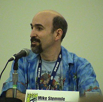 Michael Stemmle - Stemmle at the 2008 Comic-Con International Photo courtesy of Mike Haley