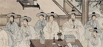 Chungin - Image: Middle Class in Joseon